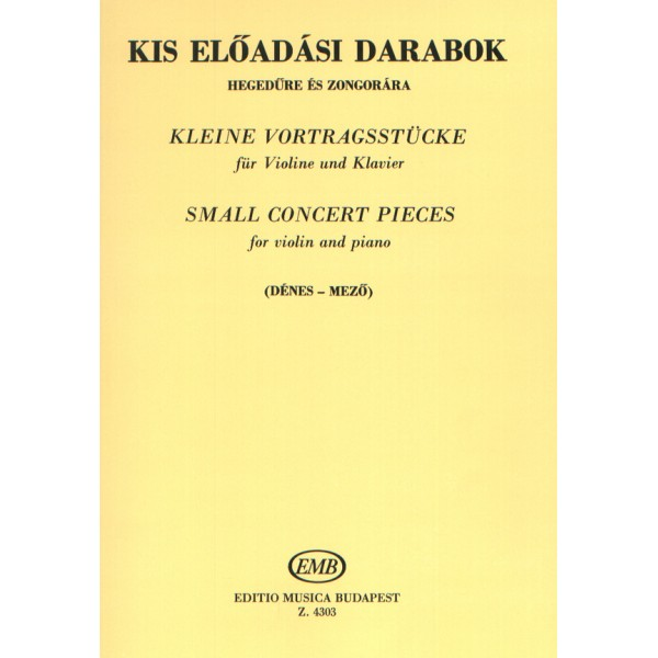 Small Concert Pieces - for violin and piano