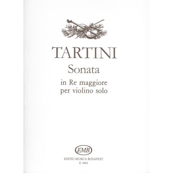 Tartini, Giuseppe - Sonate In Re Maggiore - per violino solo