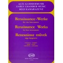 Renaissance Works For Four Instruments - ad lib. for winds, strings or mixed ensemble