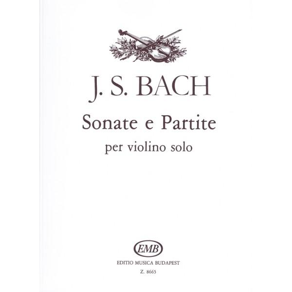 Bach, Johann Sebastian - Sonate E Partite - per violino solo,  BWV 1001-1006