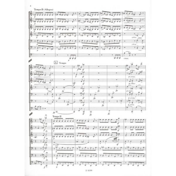 Ránki György - Serenade Of The Seven-headed Dragon - for brass septet