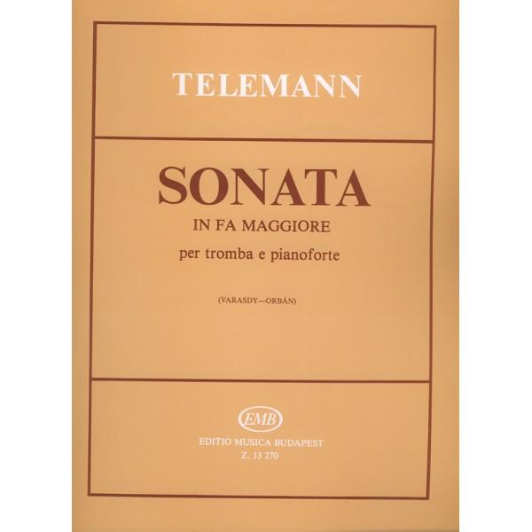 Telemann, Georg Philipp - Sonata In Fa Maggiore - per tromba e pianoforte