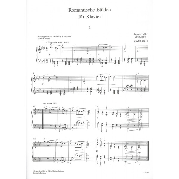 Heller, Stephen - Romantic Studies