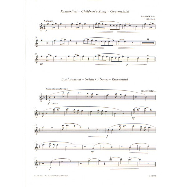 Recorder Music For Beginners - (for treble recorder with piano accompaniment)