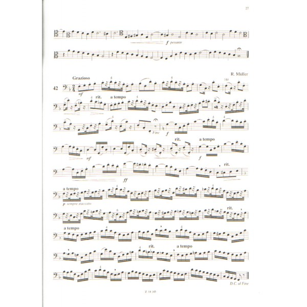 Selected Studies For Trombone