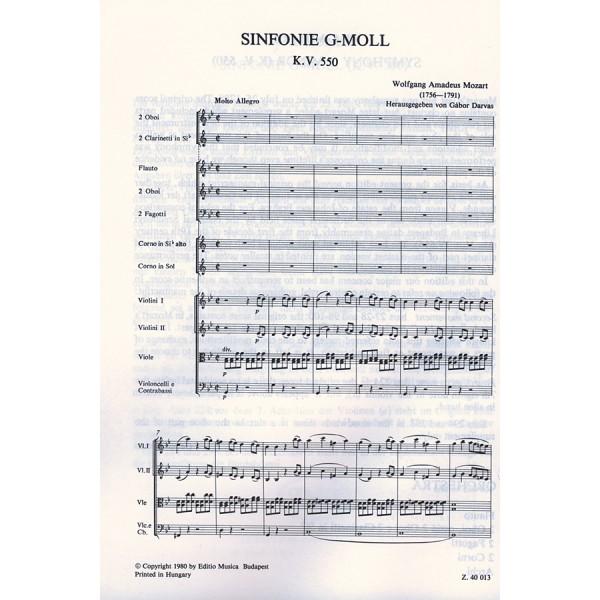 Mozart, Wolfgang Amadeus - Symphony In G Minor, K 550