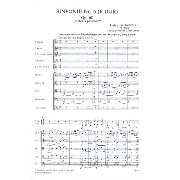"Beethoven, Ludwig van - Symphony No. 6 In F Major - Sinfonia pastorale"""""
