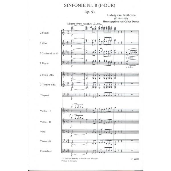 Beethoven, Ludwig van - Symphony No. 8 In F Major