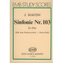 "Haydn, Joseph - Symphony No. 103 In E-flat Major - Kettledrum\""\"""