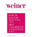 Weiner Leó - Three Hungarian Rural Dances