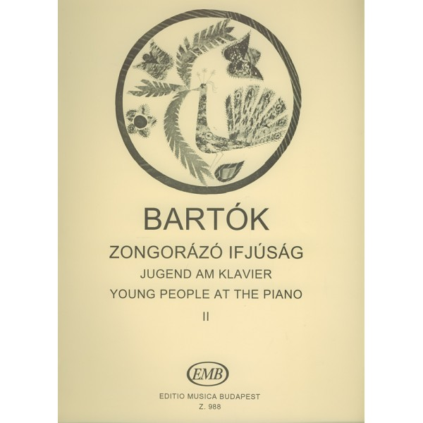 Bartók Béla - Young People At The Piano - Pieces for the 2nd and 3rd years of instruction