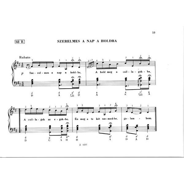 Hungarian Folksongs For Accordion - (TULIPÁNOS LÁDA)