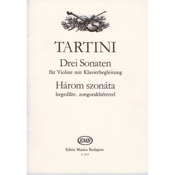 Tartini, Giuseppe - Three Sonatas