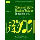 Specimen Sight-Reading Tests for Recorder  Grades 1-5