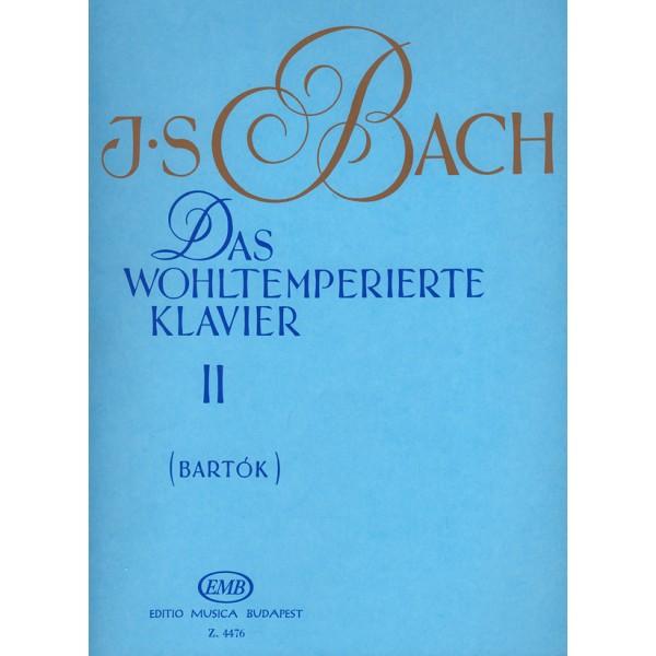 Bach, Johann Sebastian - The Well Tempered Clavier