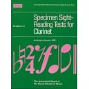 Specimen Sight-Reading Tests for Clarinet  Grades 1-5