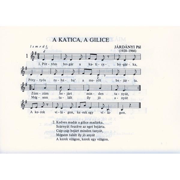 Járdányi Pál - Terefere Tercsi - Childrens Songs