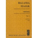 Balassa Sándor - Tresses - for soprano and chamber orchestra to a poem by Ch. Vildrac
