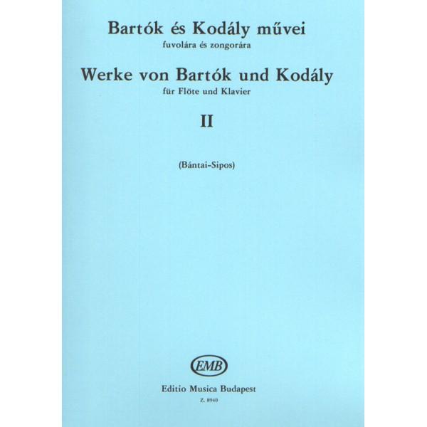 Bartók Béla, Kodály Zoltán - Works By Bartók And Kodály - for flute and piano
