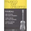 Rameau, Jean-Philippe - Three Pieces For Two Guitars