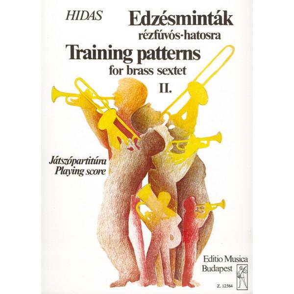 Hidas Frigyes - Training Patterns - for brass sextet