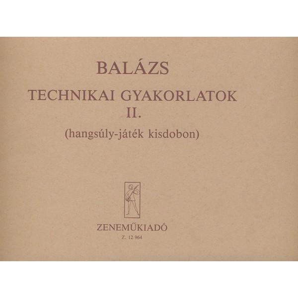 Balázs Oszkár - Technical Studies - for percussion
