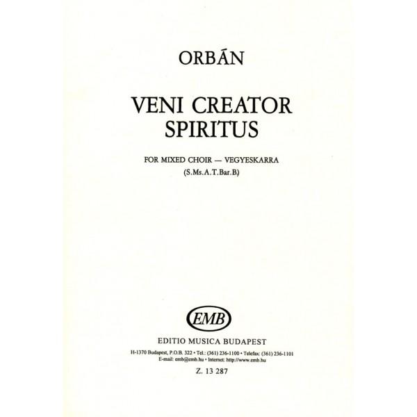 Orbán György - Veni Creator Spiritus