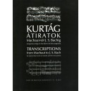 Kurtág György - Transcriptions From Machaut To J. S. Bach - for piano (duet and six hands) and for two pianos