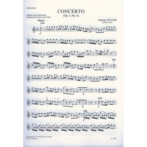 Vivaldi, Antonio - Violin Concerto In A Minor, Rv 356