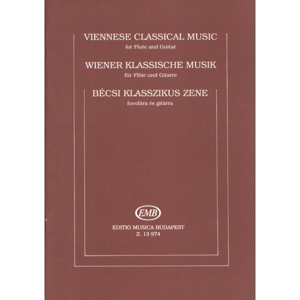Viennese Classical Music - for flute and guitar