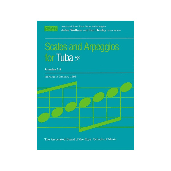 Scales and Arpeggios for Tuba  Bass Clef  Grades 1-8