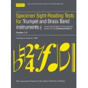 Specimen Sight-Reading Tests for Trumpet and Brass Band Instruments  Treble Clef
