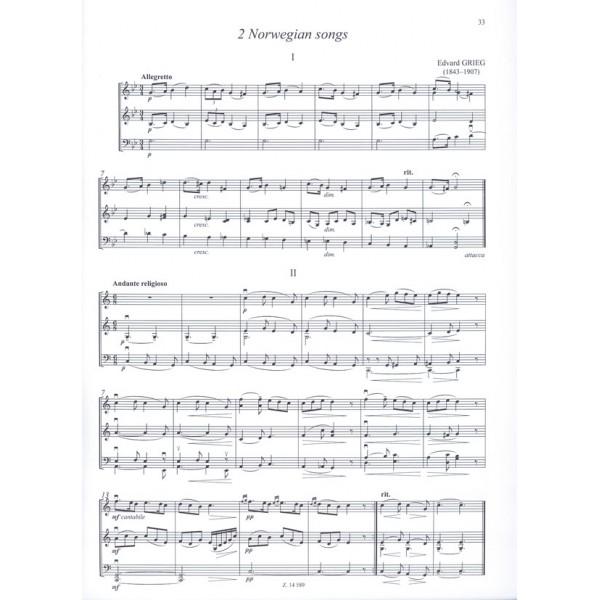 Romantic Trio Music For Beginners (first Position) - (Violino I, Violino II o Viola e Violoncello)
