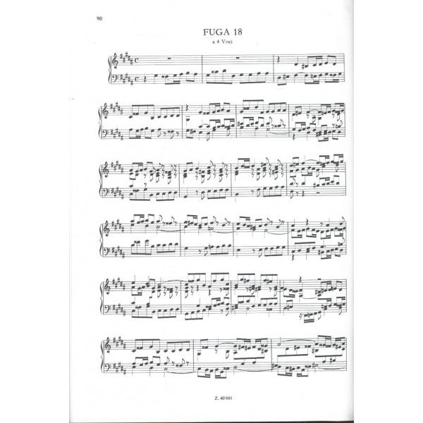 Bach, Johann Sebastian - The Well Tempered Clavier I, Bwv 846-869
