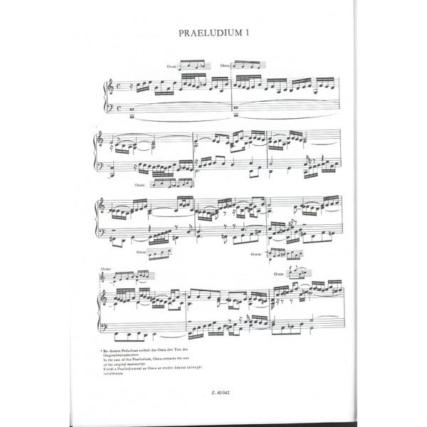 Bach, Johann Sebastian - The Well Tempered Clavier Ii, Bwv 870-893