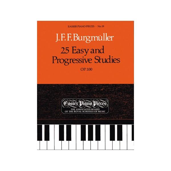 25 Easy and Progressive Studies  Op.100
