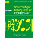 Specimen Sight-Reading Tests for Treble Recorder  Grades 6-8