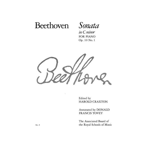 Piano Sonata in C minor  Op. 10 No. 1