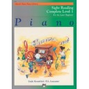 Kowalchyk  - Alfreds Basic Piano Course: Sight Reading Book Complete Level 1 (1a/1b)