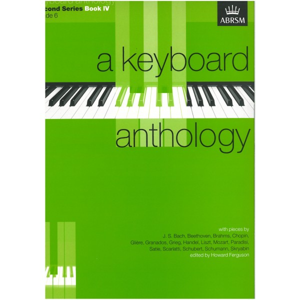 A Keyboard Anthology  Second Series  Book IV