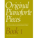 Original Pianoforte Pieces  Book I
