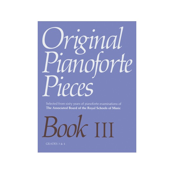Original Pianoforte Pieces  Book III