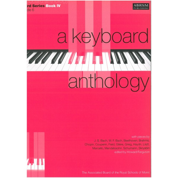 A Keyboard Anthology  Third Series  Book IV