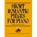 Short Romantic Pieces for Piano  Book I