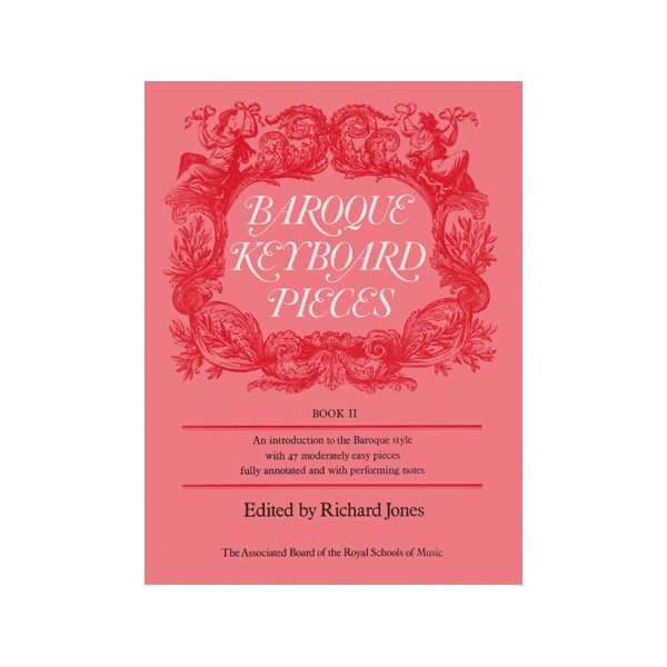 Baroque Keyboard Pieces  Book II (moderately easy)