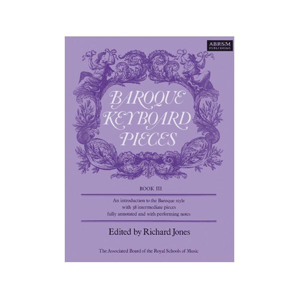 Baroque Keyboard Pieces Book III