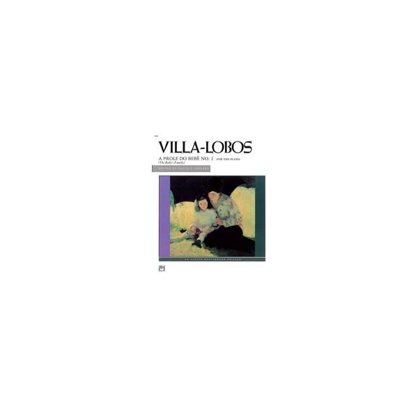 Villa-lobos, H, arr. Appleby, D - A Prole Do Bebe, No. 1