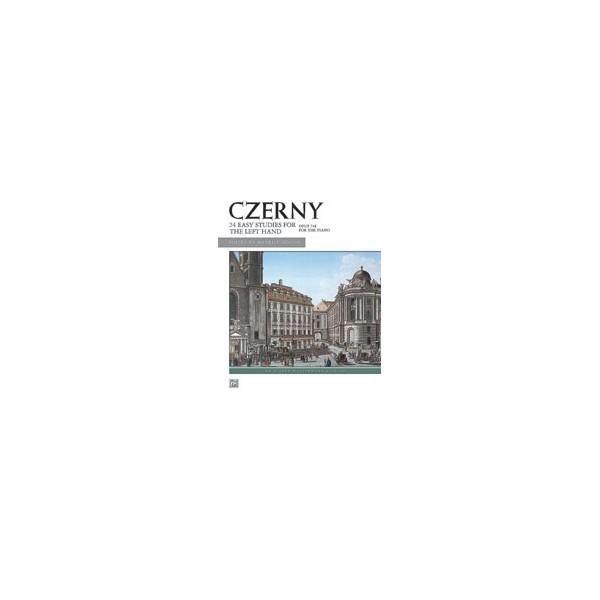 Czerny, Carl - Czerny -- 24 Studies For The Left Hand, Op. 718 - Left Hand Alone