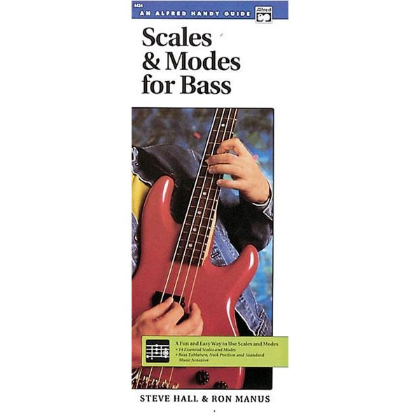 Hall, S,  - Scales & Modes For Bass  - Handy Guide