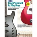 Manus, M, - Alfreds Teach Yourself To Play Bass